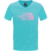 The North Face Girls Reaxion S/S Tee Bluebird
